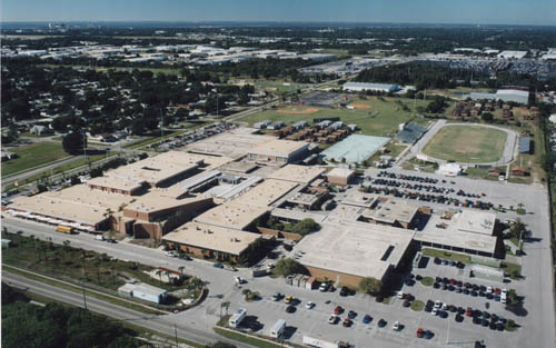 High School Roofing Project In Tampa Florida